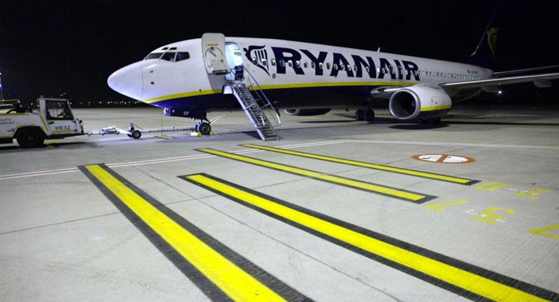 When ryanair cross the line