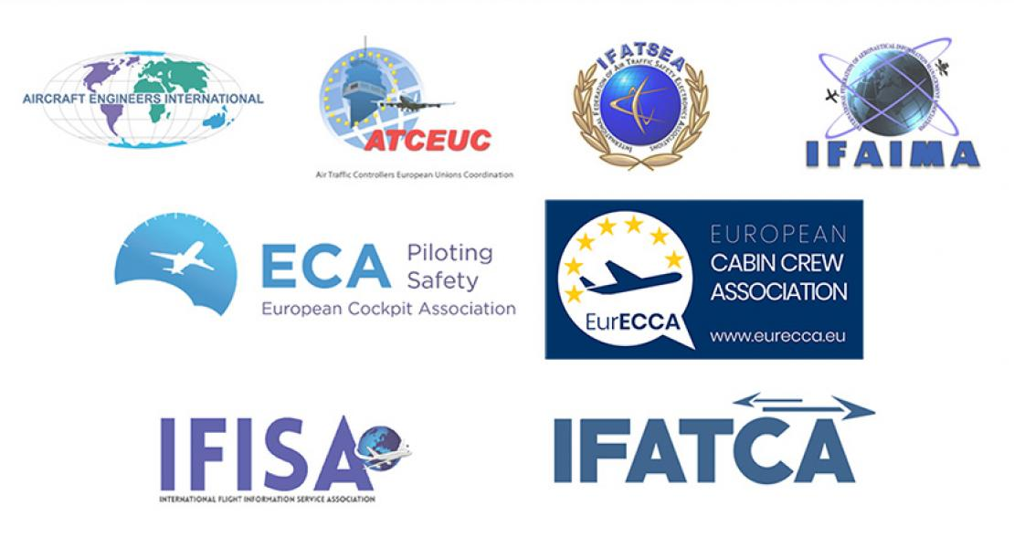 EU AVIATION STAFF ORGANISATIONS